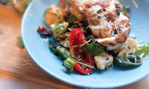 Low Carb-kyckling med grönsaker