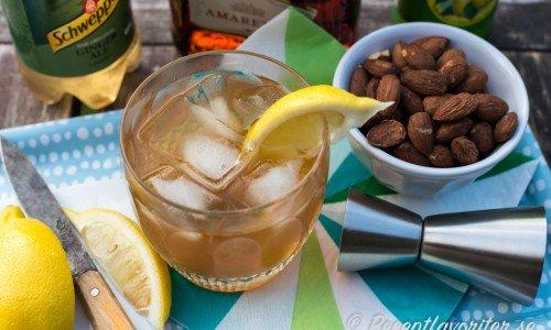 Recept och drinkar med Amaretto - italiensk mandellikör
