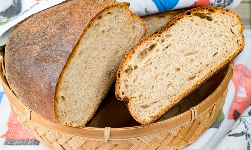 Ankarstock rågbröd i brödkorg