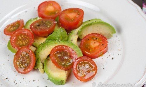 Recept med avokado