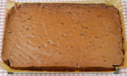 Brownies i långpanna