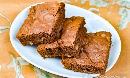 Brownies med nötter