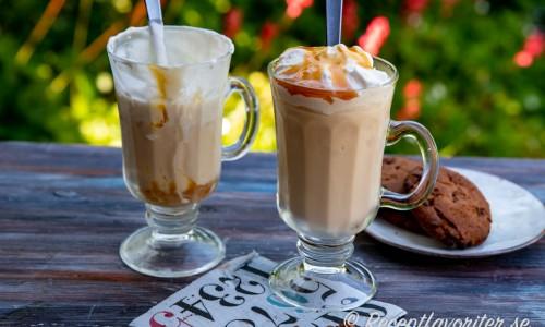 Läskande och svalkande iskaffe för sötsugna