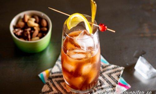 Chimayo cocktail eller longdrink med rostad nötmix