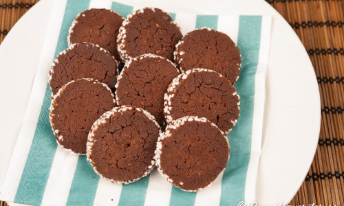 Chokladbrysselkex - Brysselkex med chokladsmak.