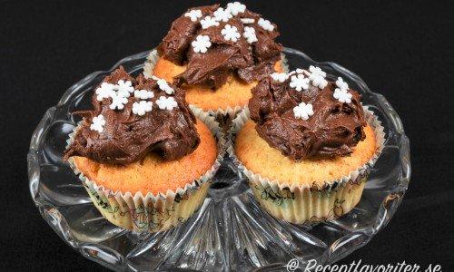 Chokladglasyr och chokladfrosting