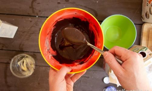 Chokladglasyr till munkarna