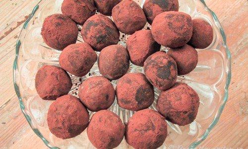 Chokladtryffel med calvados