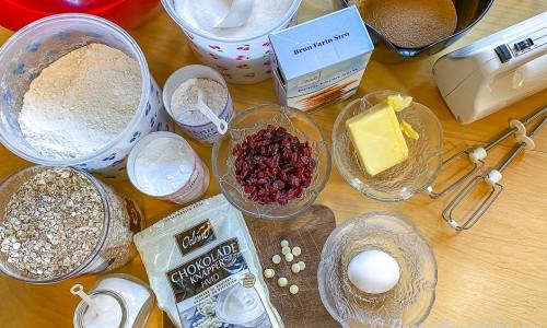Ingredienser till kakorna