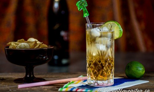 Ginger Ale med mörk rom