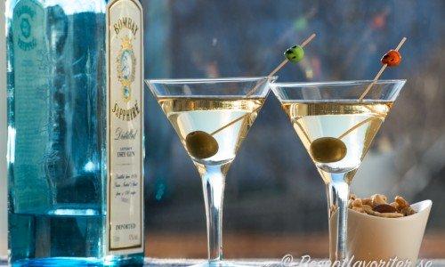 Recept på drinkar med gin som Dry Martini