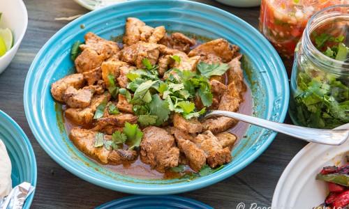 Fläskkött som fläskyttefilé får mycket god smak av marinaden.