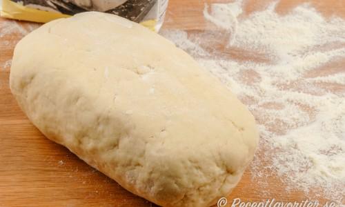 Färsk pasta utan ägg med durumvetemjöl.