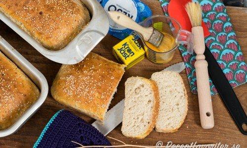 Ljust formbröd med Keso