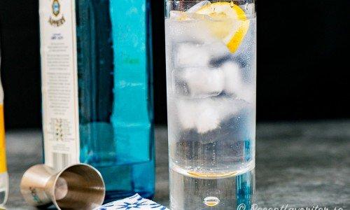 Gin och tonic - en klassisk drink i highballglas