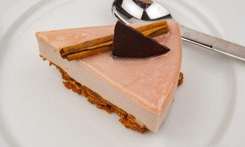 Glöggcheesecake med pepparkaksbotten