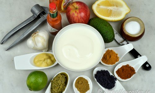 Recept på kalla såser med olika smaksättning
