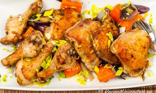 grillad kyckling i ugn recept