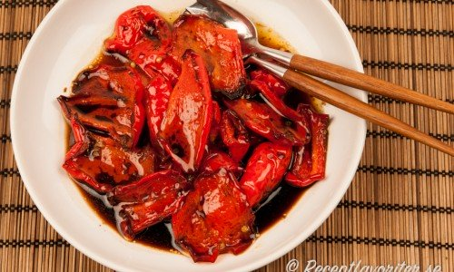 Grillad paprika
