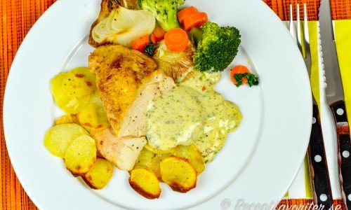 Recept med kycklingbröst eller kycklingfilé