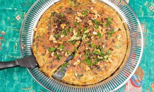 Grönsakstårta Koko Sabzi