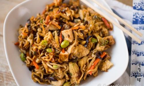 wok recept vegetarisk