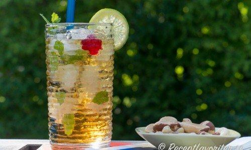 Havanna Hot Nights - en longdrink med lagrad rom, Xante päronlikör, Galliano och Ginger Ale