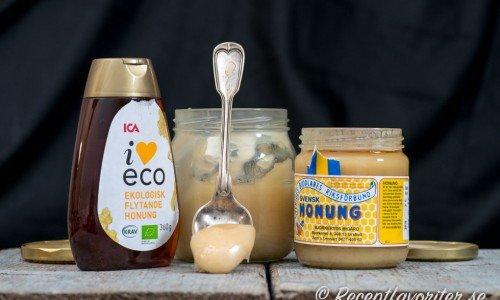 Recept med honung