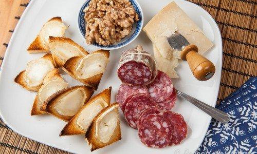 Italienska tilltugg antipasto