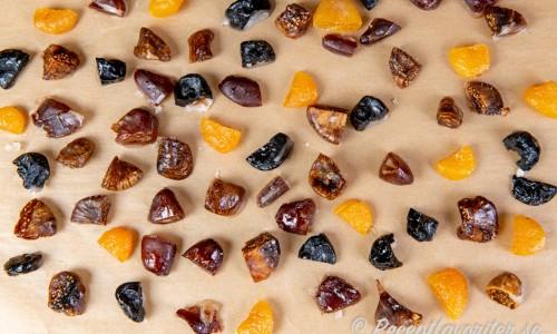Kanderad torkad frukt
