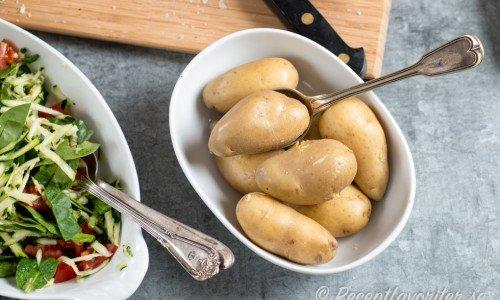 Koktid och tips på hur du kokar mandelpotatis