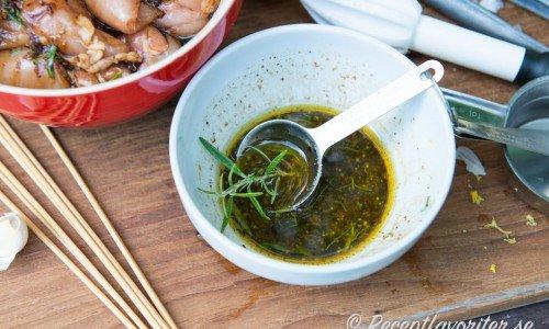 Recept på marinader