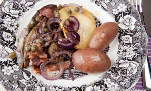 Recept med lever som lammlever Anglais ovan