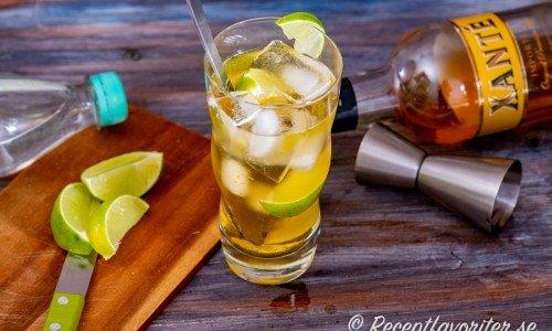 Lennart drink i högt highball-glas