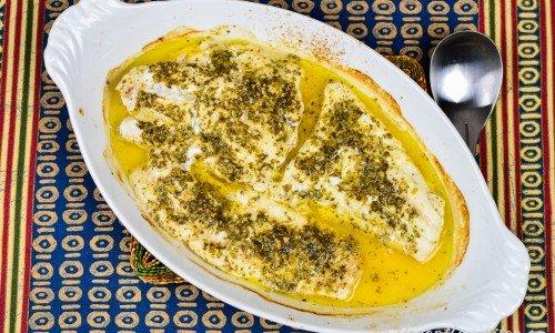 Marockansk fisk i ugn