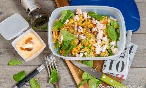 Recept som passar att ta med som matlåda eller lunchlåda.