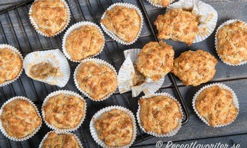 Muffins eller scones med kvarg