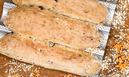 Rivna rotfrukter som palsternacka och morot sätter god smak och ger saftigt bröd.