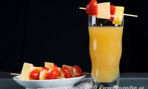 Päron Colada cocktail