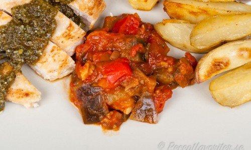 Pepperonata italiensk grönsaksröra