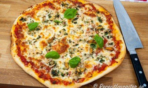 Pizza Marinara skaldjurspizza
