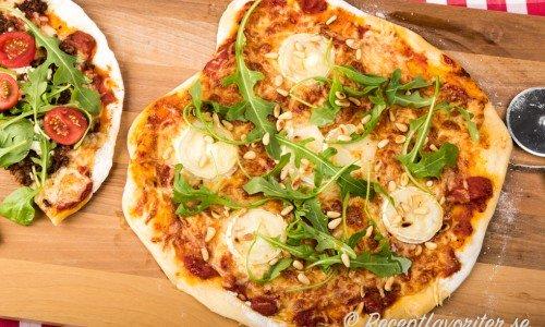 Pizzadeg med torrjäst