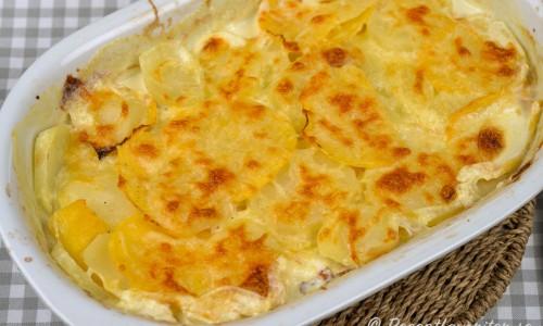 Potatisgratäng med kålrot