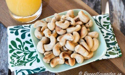 Recept med cashewnötter