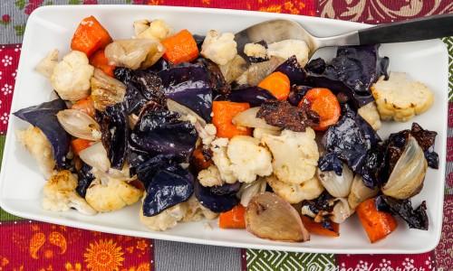 Rostade grönsaker i ugn GI