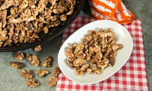 Rostade valnötter