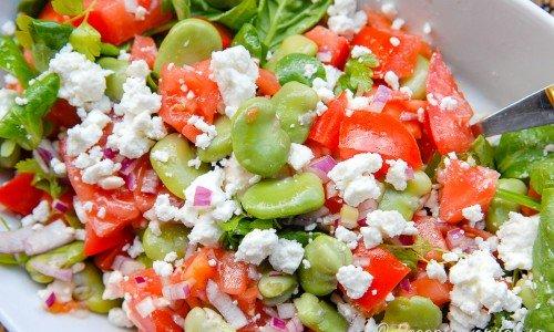 Bondbönorna är goda i sallad, grytor, som soppa eller frys in att ta fram när du önskar.