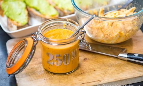 Använd salsan till pulled kyckling och mackor med mera.
