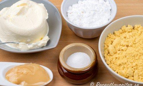 Senap med honung och senapspulver