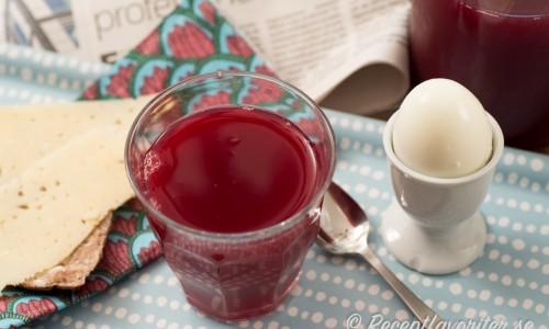 Slånbärsjuice - gott och nyttigt